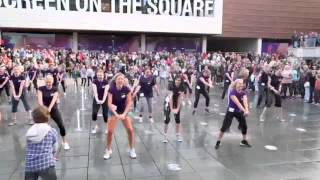 Flash Mob - Zumba Heat - Sexy and I know it