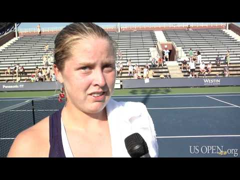2010 US Open: Making Her Family Proud