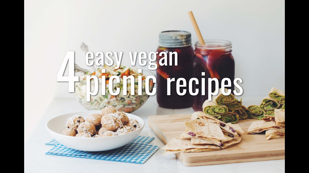 4 easy vegan picnic recipes hot for food youtube forumfinder Gallery