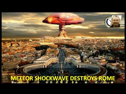 METEOR STRIKE SIGNALS RAPTURE -- WHY THE 7TH SEAL OPENS FIRST!