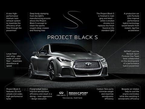 2017 Infiniti Project Black S Future Of Infinity Youtube
