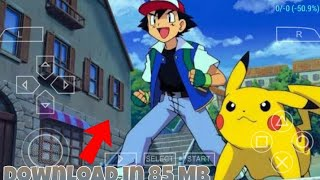 [80]MB DOWNLOAD ULTRA REALISTIC POKEMON GAME FOR ANDROID DEVICE