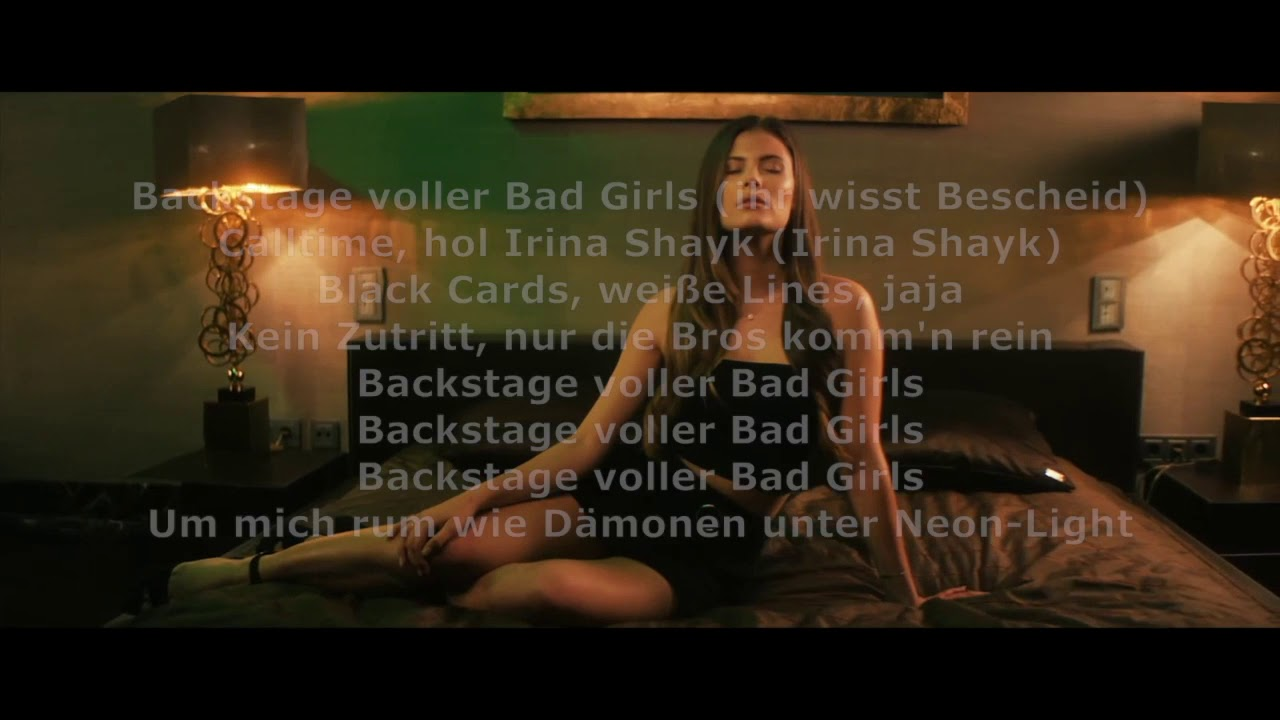 irina shayk lyrics