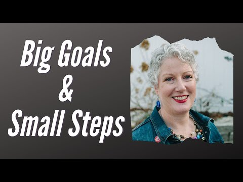 BIG GOALS AND SMALL STEPS