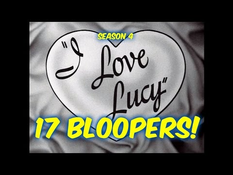 "17 ""I Love Lucy"" Bloopers You PROBABLY Did NOT Notice!!--Season 4"