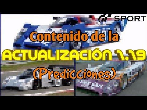 Gran Turismo Sport - Predicción del contenido de la actualización 1.19