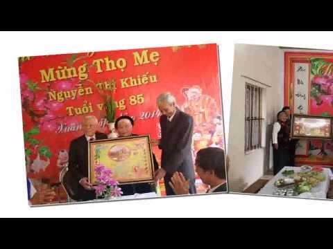 """Hát chèo """" Lời trần tình tặng mẹ"""" ST Nguyễn Đình Vinh"""