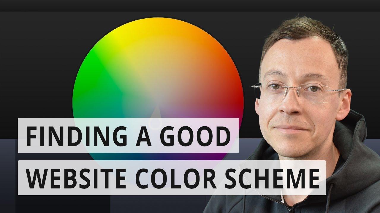 Finding a good website color scheme