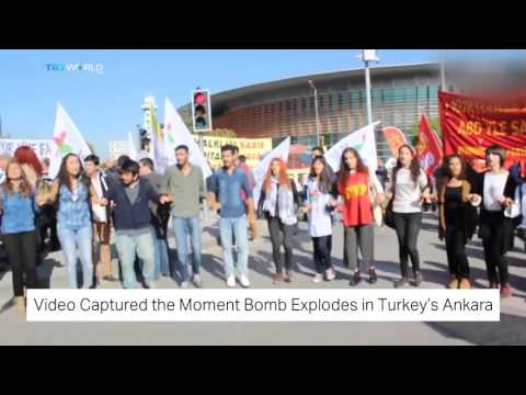 TRT World: Video captures the moment of explosion in Turkey's Ankara