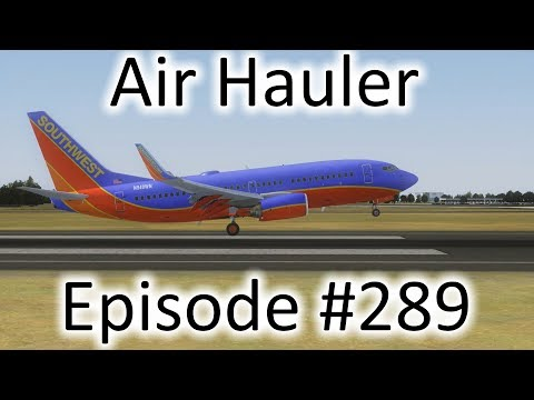 FSX | Air Hauler Ep. #289 - Lima to Buenos Aires | 737-700