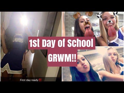 GRWM: First Day of School (Sophmore Year)