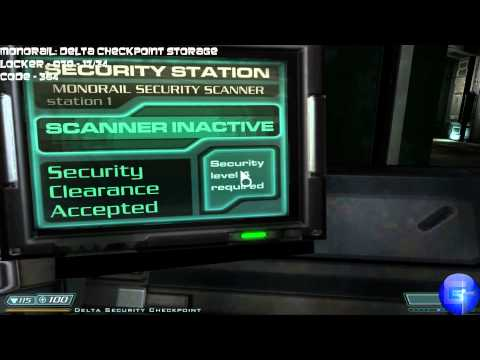 DOOM 3 BFG - All Storage Lockers Locations With Codes (Goody Finder Trophy / Achievement)