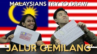 Malaysians Try to Draw
