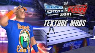 John Cena 2017 Attire + Smackdown Live | WWE Smackdown vs Raw 2011 | Texture Mods (PPSSPP)