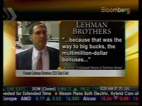 Insider Story Of Lehman's Collapse - Bloomberg