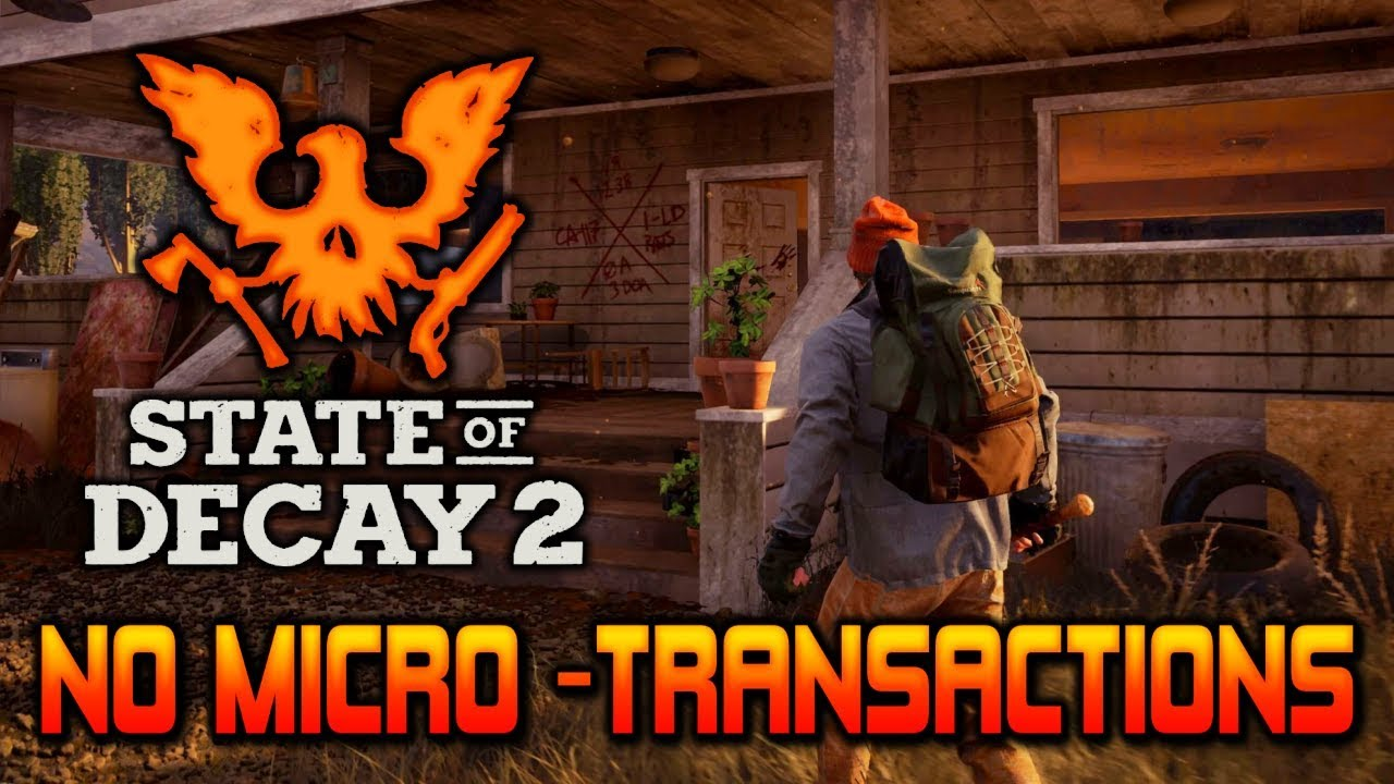 DLC & No Microtransactions | State of Decay 2