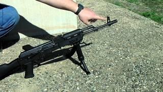 AKM Rifle - 25 Meter Battle Sight Zero With RPK Rear Sight