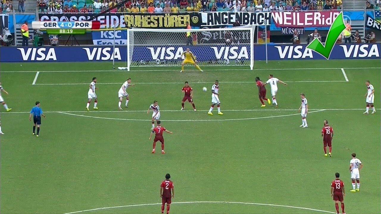 Freistoss Ronaldo So War Es Geplant Fussball Wm 2014 Deutschland Portugal