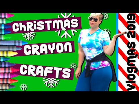 vlogmas-day-7:-will-it-work?-trying-diy-pinterest-crayon-christmas-crafts-(for-adults)
