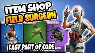Fortnite Item Shop *NEW* Field Surgeon SKIN! March 09 2019