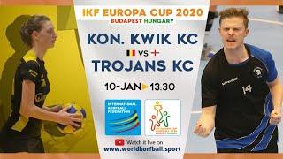 IKF ECup 2020 Kon. Kwik KC - Trojans KC