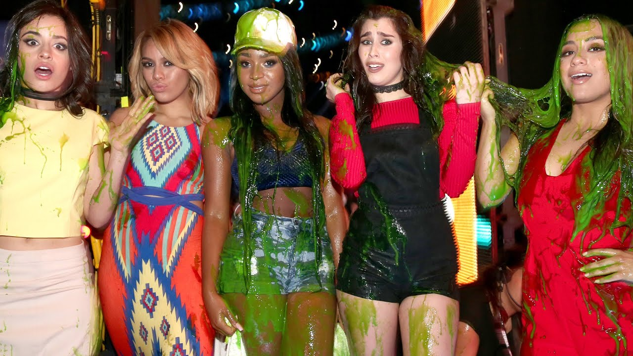 Fifth harmony gets slimed at kids choice awards 2016 youtube ccuart Gallery