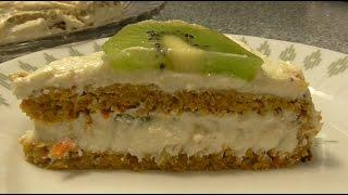 Морковно  яблочный торт Диетический вкусный торт Рецепт торта