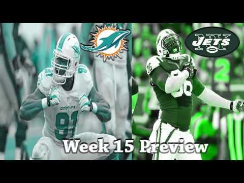 NFL Week 15 2016 Miami Dolphins vs New York Jets Preview