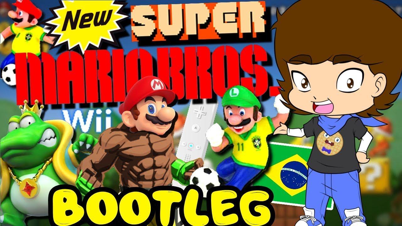 BOOTLEG New Super Mario Bros  11-in-1 (Nintendo Wii) - ConnerTheWaffle