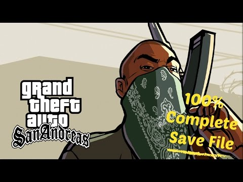 How To Download GTA San Andreas 100% Complete Save File