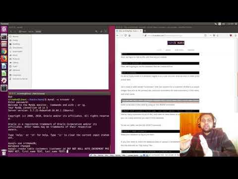 MySQL And SQL Cheat Sheet