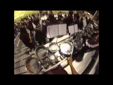 Moses Lake High School Band End Performance GoPro Head Cam