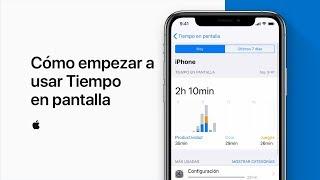 Cómo empezar a usar Tiempo en pantalla – Soporte técnico de Apple