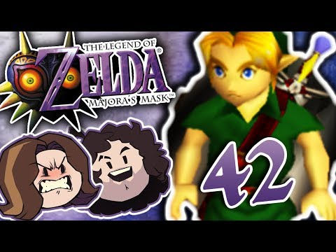 Zelda Majora's Mask: Fish-Man Race - PART 42 - Game Grumps