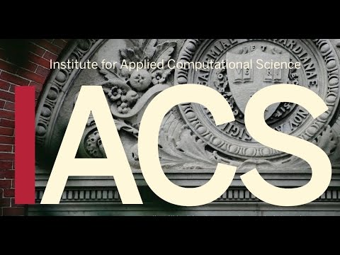 IACS Seminar: Challenging the Canon: Working at the Frontier of Biomedicine & Computing 4/1/16