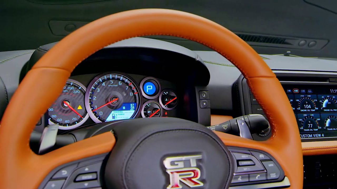New Nissan GT R 2017   Interior   YouTube