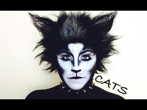 CATS BROADWAY MUSICAL MAKEUP TUTORIAL , NYX FACE AWARDS 2014 CHALLENGE 4