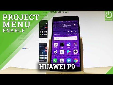 Codes HUAWEI P9 - HardReset info
