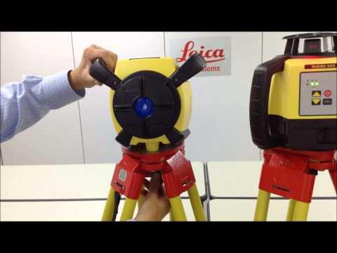回転レーザーRugby 620・640 の違い その1) 横置き設置の可否