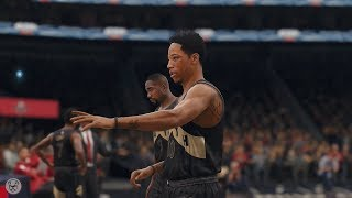 NBA Live 18: Raptors vs Pelicans - Full Highlights | Online Head 2 Head