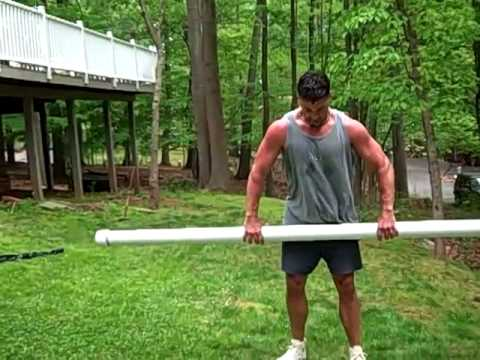 Outdoor Workout Part 2: Squat Thrust Variations With ...