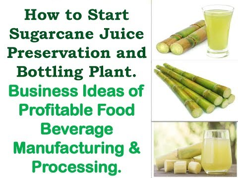 sugarcane juice project