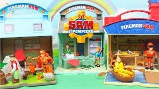 SAM il POMPIERE - I nuovi Giochi con 6 Personaggi [Apertura in italiano]