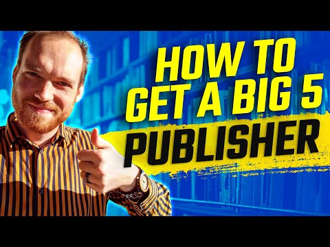 How Do You Get Published By The Big 5 Publishers? | Manuscript Submissions Tips