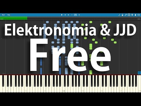 Elektronomia & JJD - Free | Synthesia Piano Cover