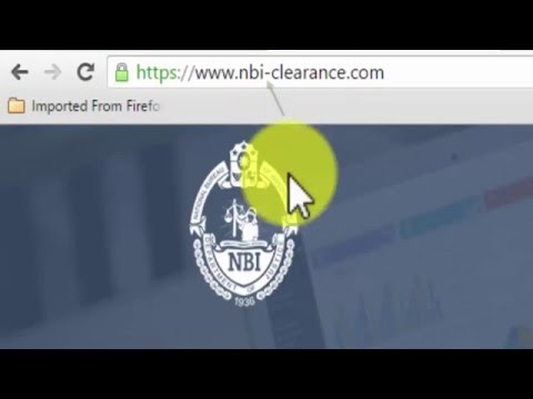 How to get NBI Clearance Online (2016)
