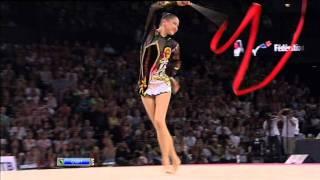 Alina Maksymenko Ribbon AA Final World Championships 2011.