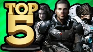 MOST HEARTBREAKING VIDEO GAME DEATHS (Top 5 Friday)