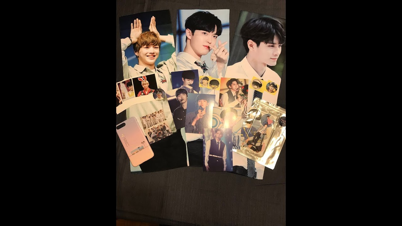 Unboxing 2 Wanna One Fansite Goods