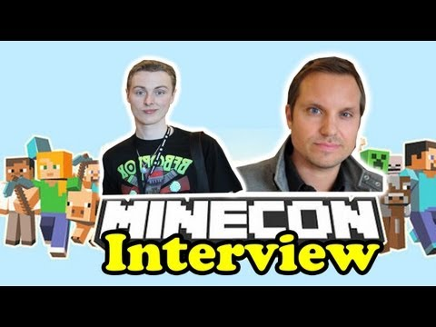 Minecon - Interview With Carl Manneh - Mojang Managing Director